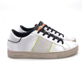 Crime London LOW TOP ESSENTIAL BIANCO 11558PP3/BIANCO