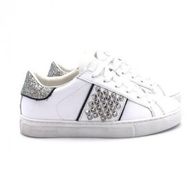 Crime London LOW TOP ESSENTIAL BIANCO 25626PP3/BIANCO