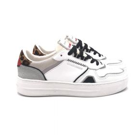 Crime London SNEAKERS LOW TOP OFF COURT BIANCO 24006AA4/BIANCO