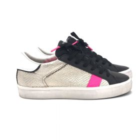 Crime London SNEAKERS LOW TOP DISTRASSED ANTRACITE 24338AA4/ANTRACITE