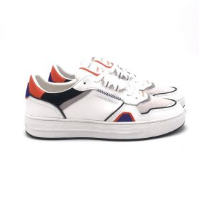 Crime London SNEAKERS LOW TOP OFF COURT BIANCO 10003AA4/BIANCO